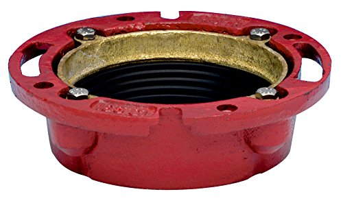 Oatey 42255 165 Cast Iron Flange, 4-Inch (Cast Iron Closet Flange compare prices)