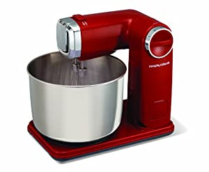Morphy Richards 48993 Folding Stand Mixer - Red from Morphy Richards Ltd
