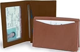 Clava ID/Slim Wallet - Leather - Bridle Tan - Bridle Tan