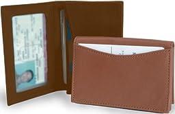 Clava ID/Slim Wallet - Leather - Bridle Tan - Bridle Tan