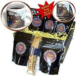 Rich Diesslins Funny Out to Lunch Cartoons - Some People Who Should Not Go Hiking - Coffee Gift Baskets - Coffee Gift BasketRich Diesslins Funny Out to Lunch Cartoons - Some People Who Should Not Go Hiking - Coffee Gift Baskets - Coffee Gift Basket