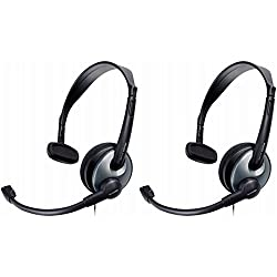 Philips Home Communication Cordless Phone Headset with Mic 2-Pack SHU3000