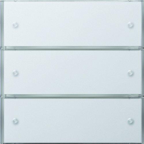 Gira 2033112 - Sensore tattile 3 Comfort x 3 a superficie piatta, colore: Bianco puro