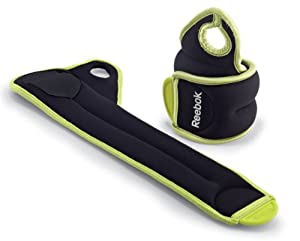 Reebok Thumblock Wrist Weight (4-Pound Set) or Two 2lb. weights