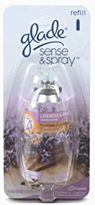 Glade Sense and Spray, Refill, Lavender and Vanilla, 0.43-Ounce