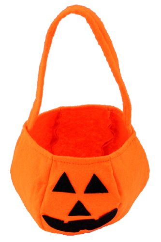 eFuture(TM) Orange Non-woven Halloween Pumpkin Bag For Kids +eFuture's nice Keyring