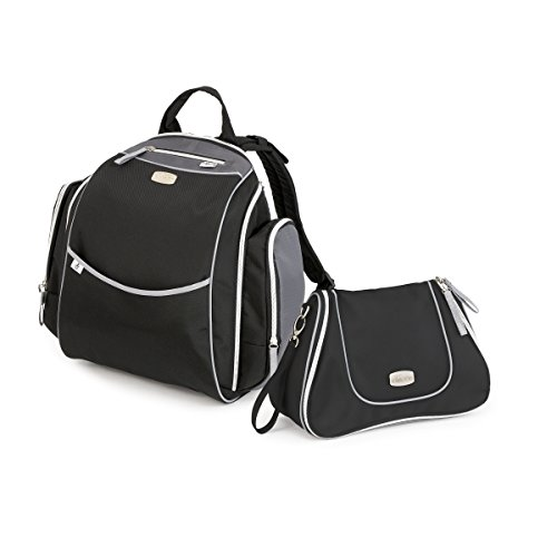 Chicco Urban Backpack and Dash Bag, Black - 1