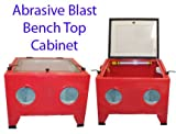 Abrasive Sandblaster Cabinet With Light