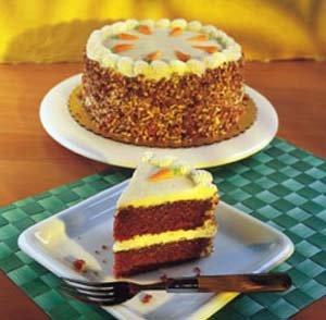 Grandma Olesen's Carrot Cake by O & H Danish Bakery