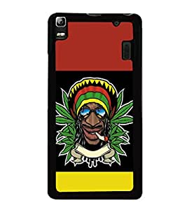 printtech Jamaica Weed Cool Back Case Cover for Lenovo A7000