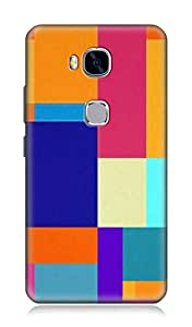 Huawei Honor 5X 3Dimensional High Quality Designer Back Cover by 7C