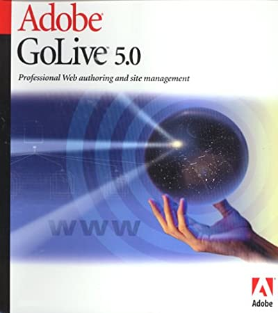 Adobe Golive 5.0 Upgrade [Old Version]