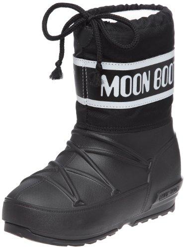 Tecnica Moon Boot POD, 340201, Unisex-Kinder-Winterstiefe, Schwarz (1), Gr. 33/34
