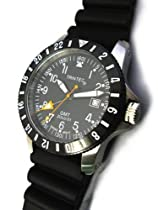 Trintec Zulu GMT Watch Stainless Steel Case Zulu-01