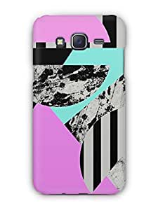 Cover Affair Geometric Printed Back Cover Case for Samsung Galaxy J5 (2016)