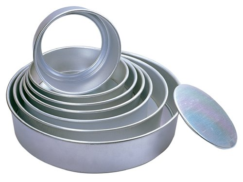 Round Cheesecake Pans with Removable Bottoms