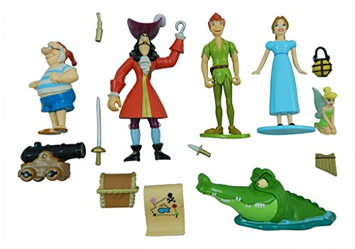 Disney Peter Pan Figurine Figure Set