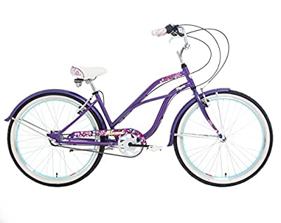 "Mizani Flyer, Beach Cruiser Bike, 26"", Ladies 3 Speed"