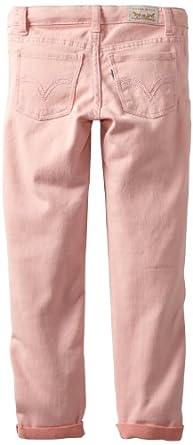 (凑单)李维斯Levi's Girls 7-16 Daria Cuffed Denim Legging 女孩修身牛仔裤$16.83