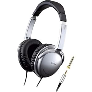 Denon AHD1001S On-Ear Headphones (Silver) (Discontinued by Manufacturer)