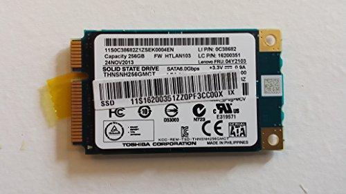 "Toshiba 1.8"" Msata Solid State Drive SSD 256gb Sata3 III 6gb/s Thnsnh256gmct"