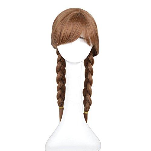 Frozen - Anna Cosplay Costume Wig