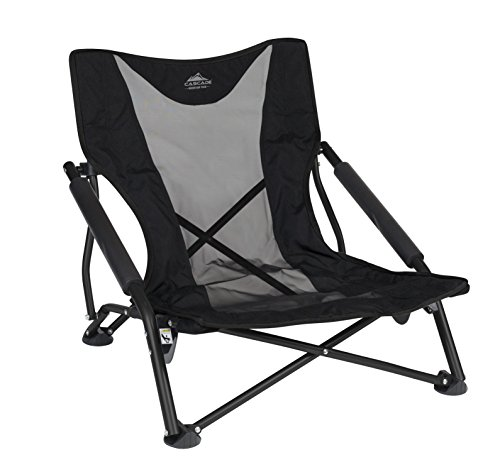 Outdoor Chair - Cascade Mountain Tech Lightweight, Compact and Durable Low Profile Chair ... (Low Profile Beach Chair compare prices)