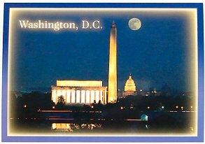 DC Souvenirs, Washington DC Gifts : Blank Postcards : Office Products