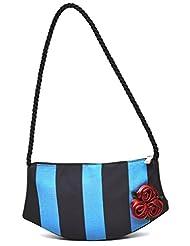 Nehasbags Women's Handbag Blue Black (NHSR 023)