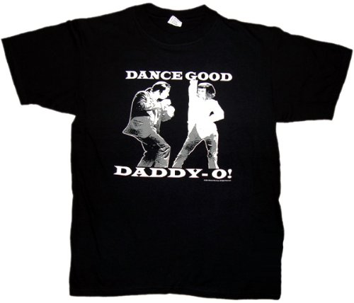 Pulp Fiction Dance Good Daddy-O Movie T-Shirt Tee Select Shirt Size: