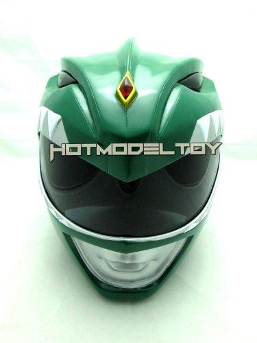 Green Power Ranger Helmet Cosplay Life Size