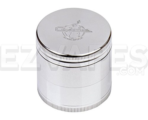 Cosmic Case 4 Piece Aluminum Herb Grinder Small 50mm (Grinder Cosmic compare prices)