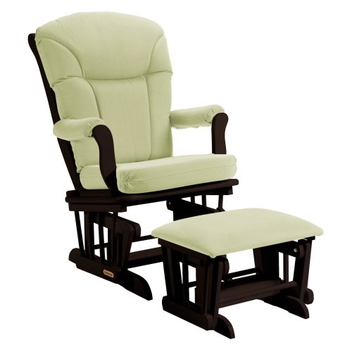 Baby Glider And Ottoman front-117543