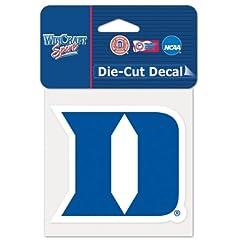 Buy Duke Blue Devils Official NCAA 4x4 Die Cut Car Decal by WinCraft