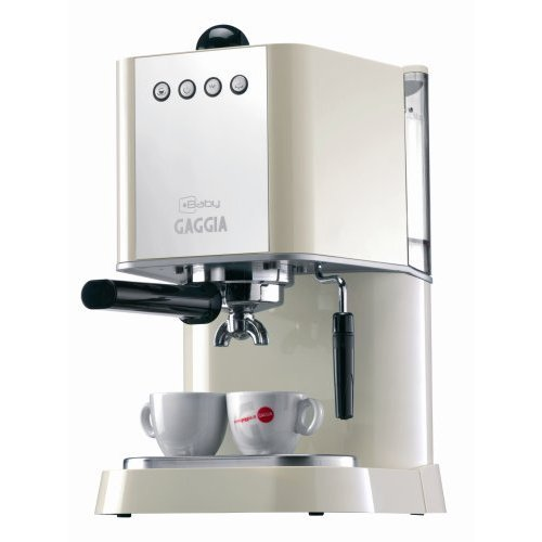 Gaggia New Baby white