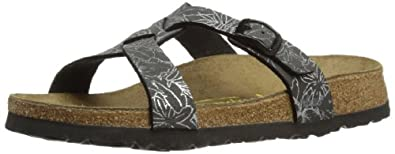 Papillio by Birkenstock Womens Sylt Fashion Sandals 370043 BF NB Amazonas Black Silver 3 UK, 36 EU, Narrow