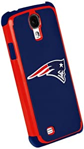 Forever Collectibles New England Patriots Rugged Dual Hybrid Samsung Galaxy S4 Case by Forever Collectibles