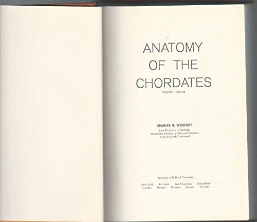 Anatomy of the Chordates PDF