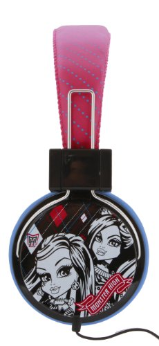 Monster High Headphones With Mic (35248-Mic)