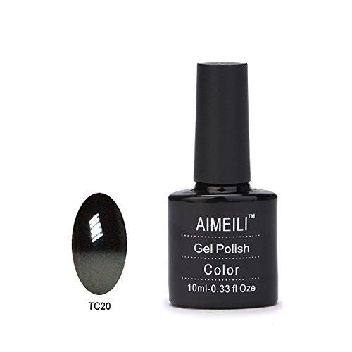 Aimeili Soak Off Uv Led Color Changing Chameleon Gel Nail Polish - Old Fashioned Tc20 10Ml