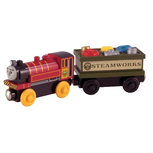 Thomas And Friends Wooden Railway - Victor And The Engine Repair Car