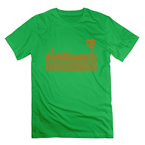 Popular Chicago City Bears Men's Tshirt ForestGreen Size M (Build A Bear Dino compare prices)