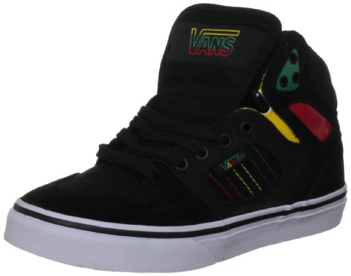 Vans Unisex Allred Black/Rasta Fashion Trainer VQEQ7RI 1.5 UK Junior