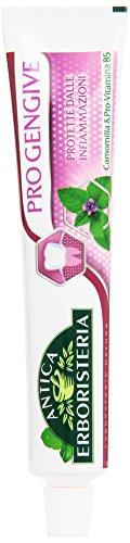Antica Erboristeria - Dentifricio Pro Gengive, Protette Dalle Infiammazioni. Camomilla è Pro-Vitamina B5 -  75 ml