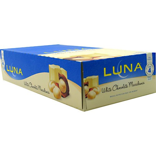 Clifbar Clifbar Luna Bar - 15 Pack White Chocolate Macadamia White Chocolate Macadamia, 15 Pack - Men'S