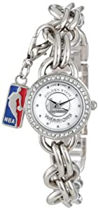 Game Time Ladies NBA-CHM-GOL Charm NBA Series Golden State Warriors 3-Hand Analog... by Game Time