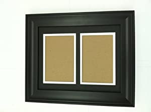 Amazon Com 16x20 Black Frame With Black Amp White Double