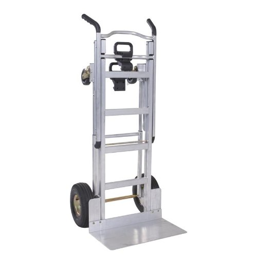 Cosco Aluminum 1000 Pound Capacity 3-in-1 Convertible Commercial Hand Truck