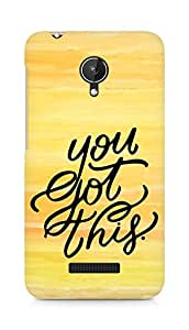 AMEZ you got this Back Cover For Micromax Canvas Spark Q380