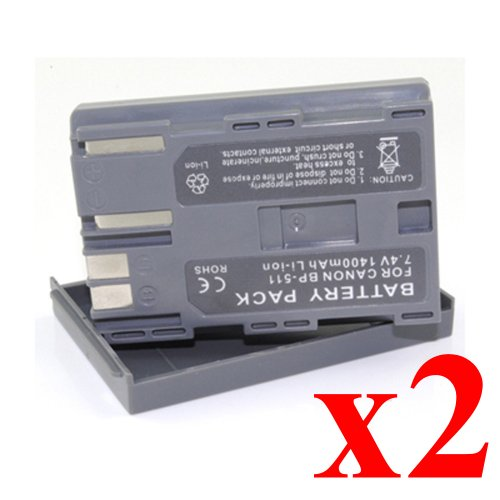 ATC 2X New Camera Battery for Canon FVM1 Canon FVM10 Canon IXY DVM Canon MV300 Canon MV300i Canon MV30i Canon PV130 Canon DM MV Series Canon FV Series Canon MV400 Series Canon MV500 Series